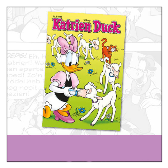 katrien duck - donald duck