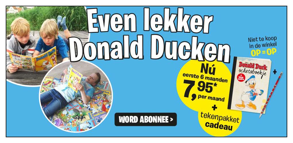 Donaldducknl Kom Ook Even Lekker Donald Ducken