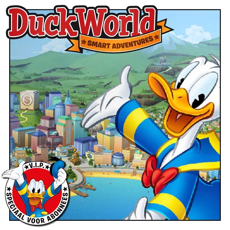 Duckworld Kom Gamen Donald Duck